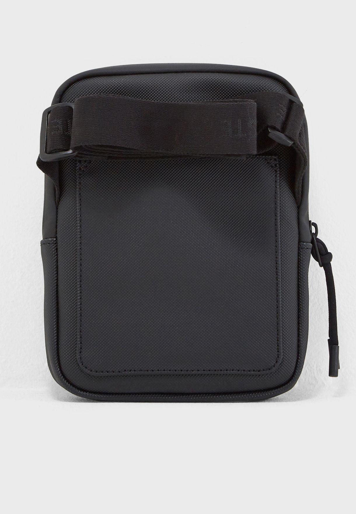 90c647101904d Shop Lacoste black Casual Messenger Bag NH2715PO-000 for Men in UAE ...