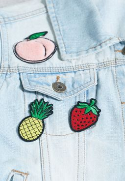 Fruity Iron On Patches