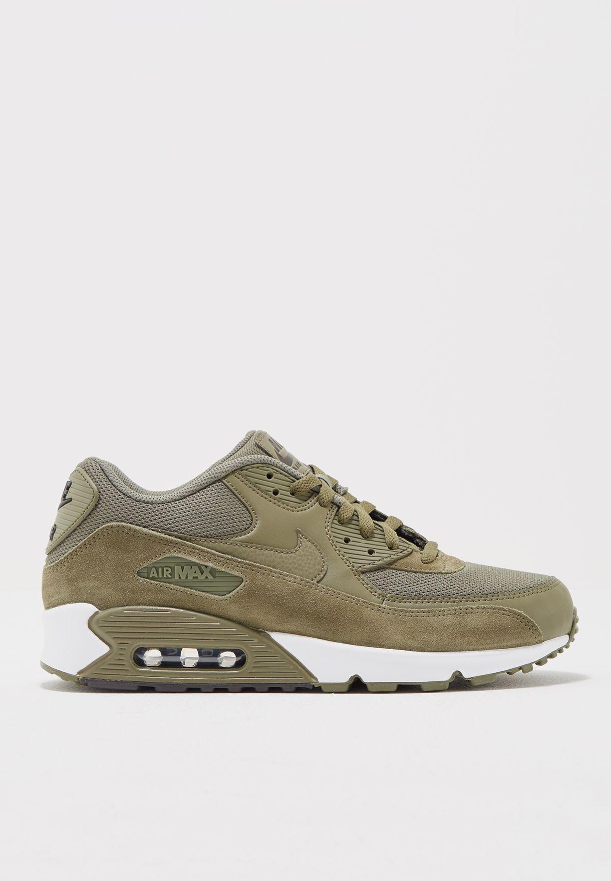 promo code 7b57b ebecb Shop Nike green Air Max 90 Essential 537384-201 for Men in Bahrain -  NI727SH34PTP