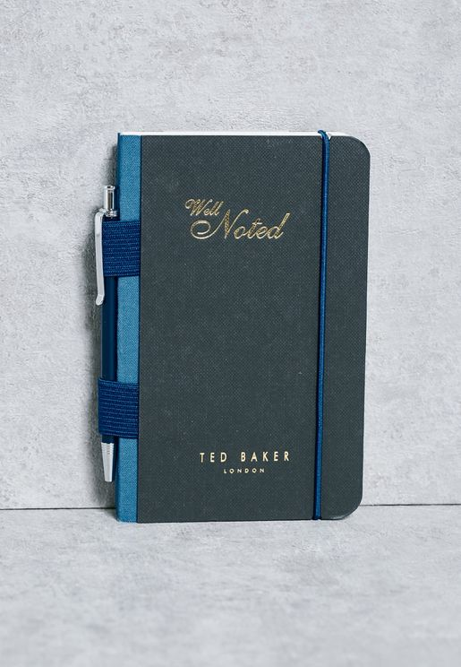 A6 Notebook + Pen Set