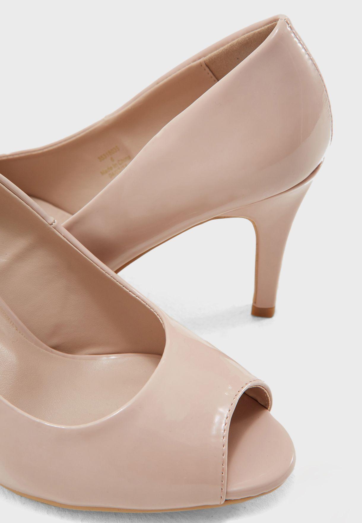 Wide Fit Clover Court Shoe