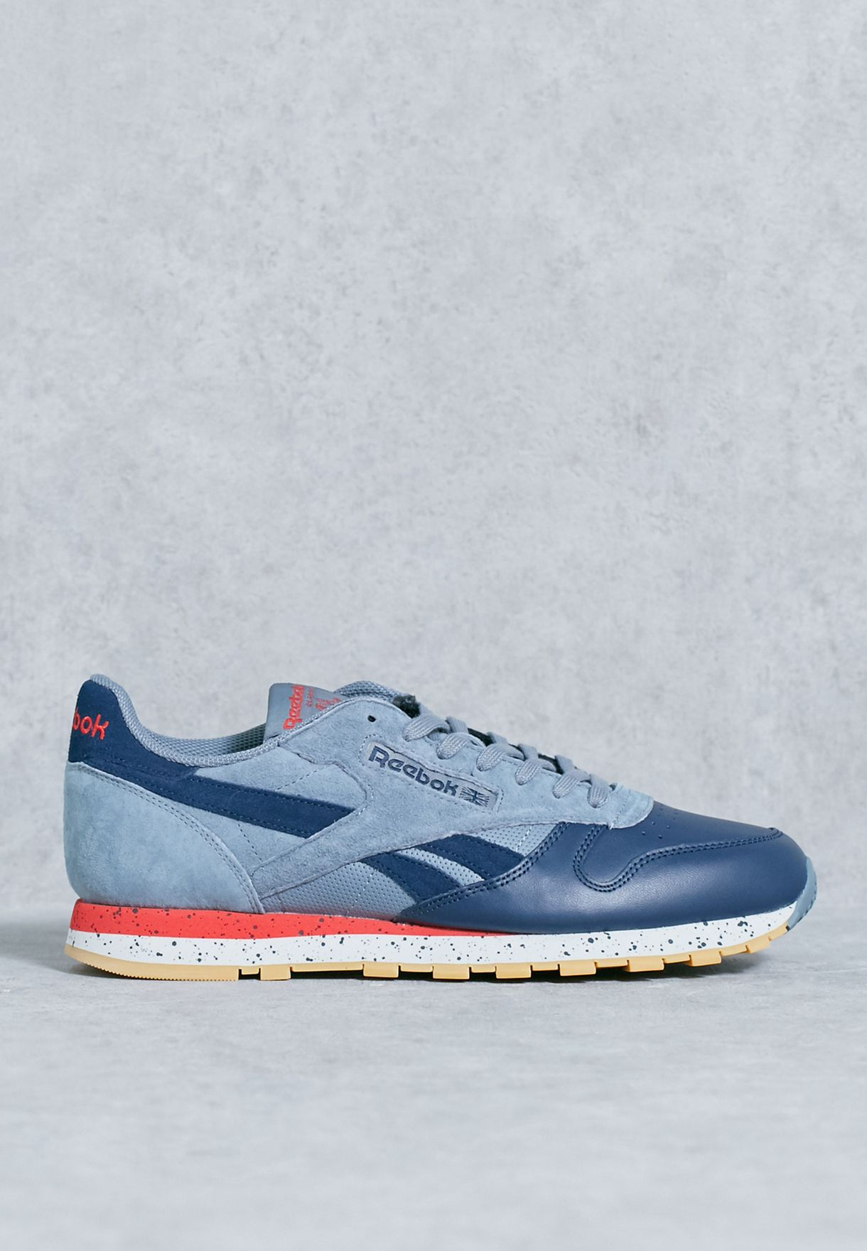 Shop Reebok blue Classic Leather SM BD1928 for Men in Saudi - RE019SH34XPP 3602fddbb