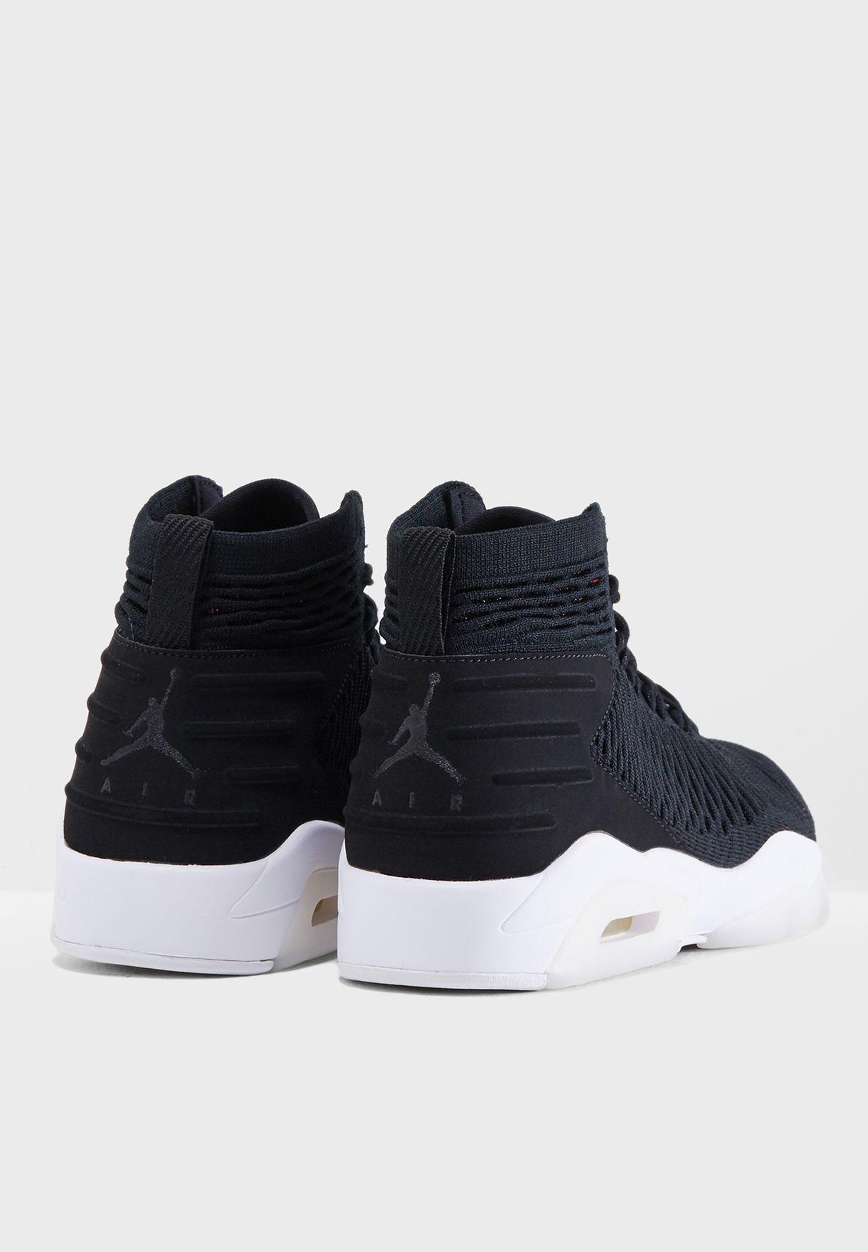d462f0069c454b Shop Nike black Jordan Flyknit Elevation 23 AJ8207-023 for Men in ...