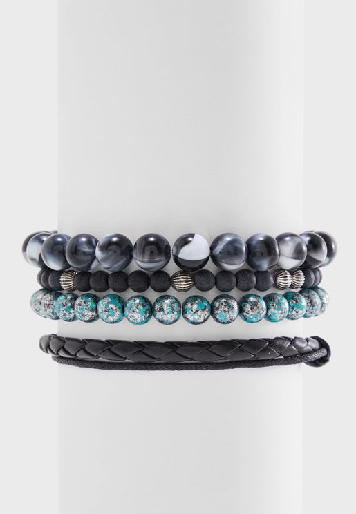 Multipack Beaded Bracelets