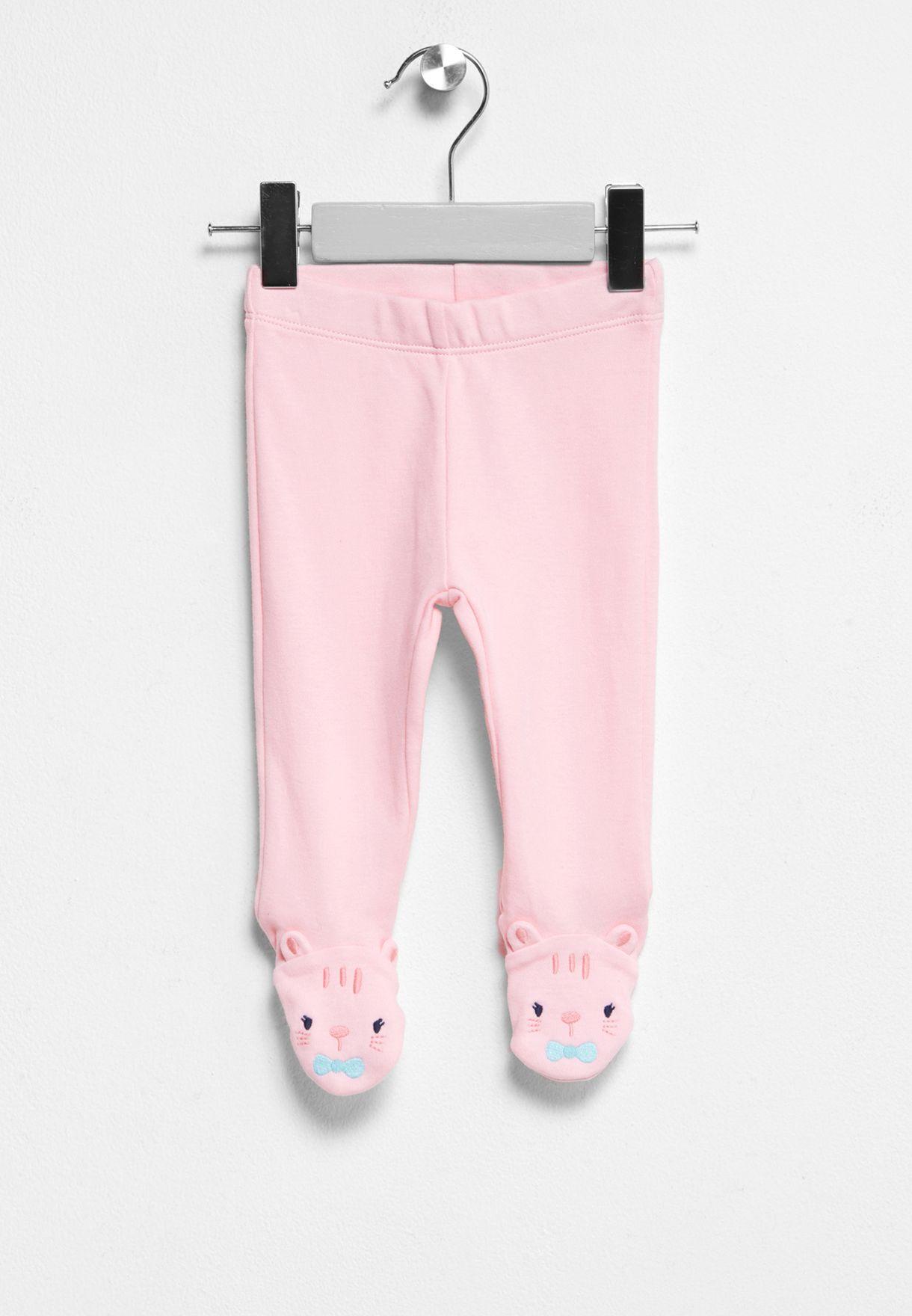 b982ed6c7514c Shop Gymboree pink Infant Footed Leggings 140175303 for Kids in ...