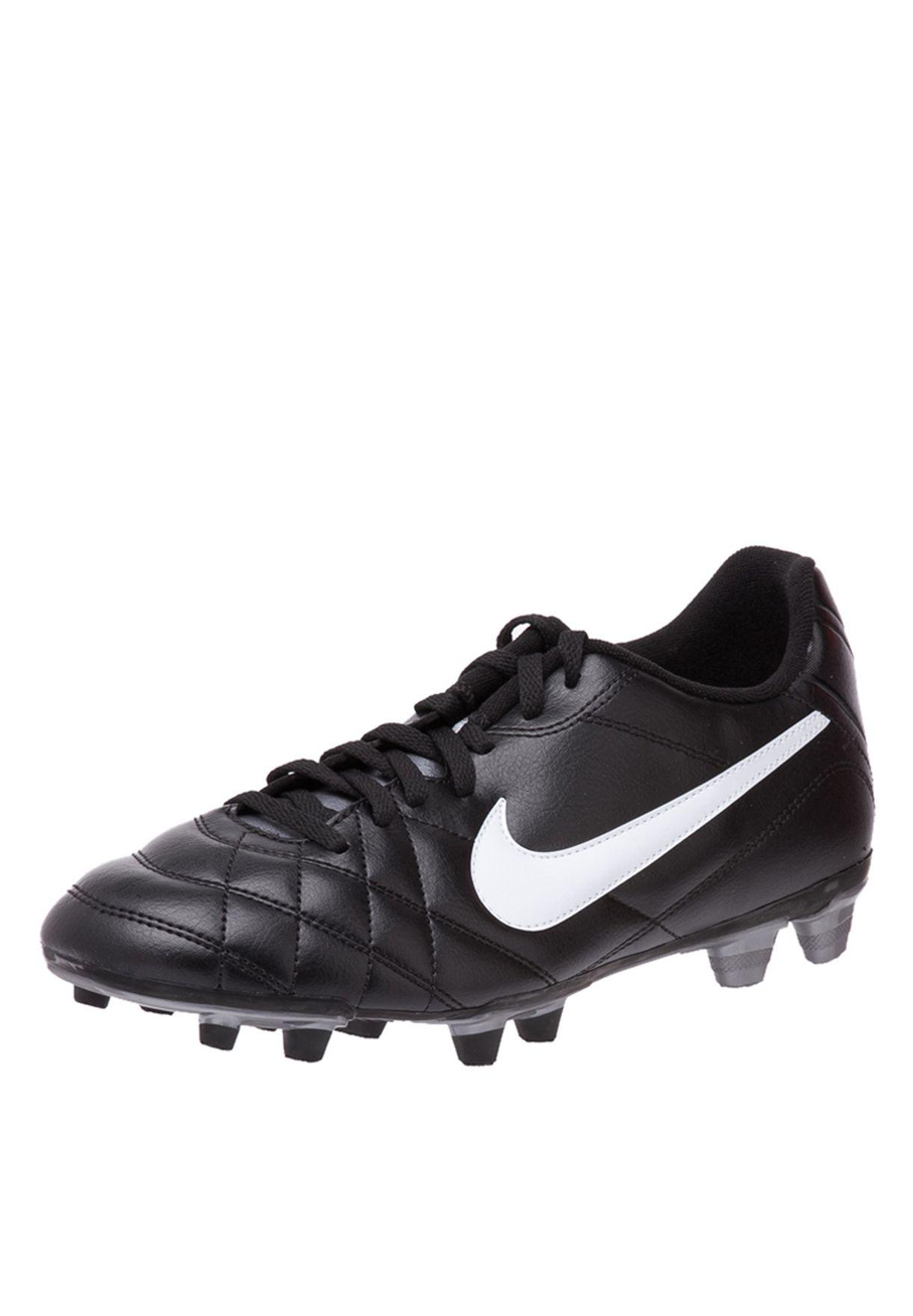 359338b6f55 Shop Nike black Tiempo Rio FG Football 509038-010 for Men in UAE ...