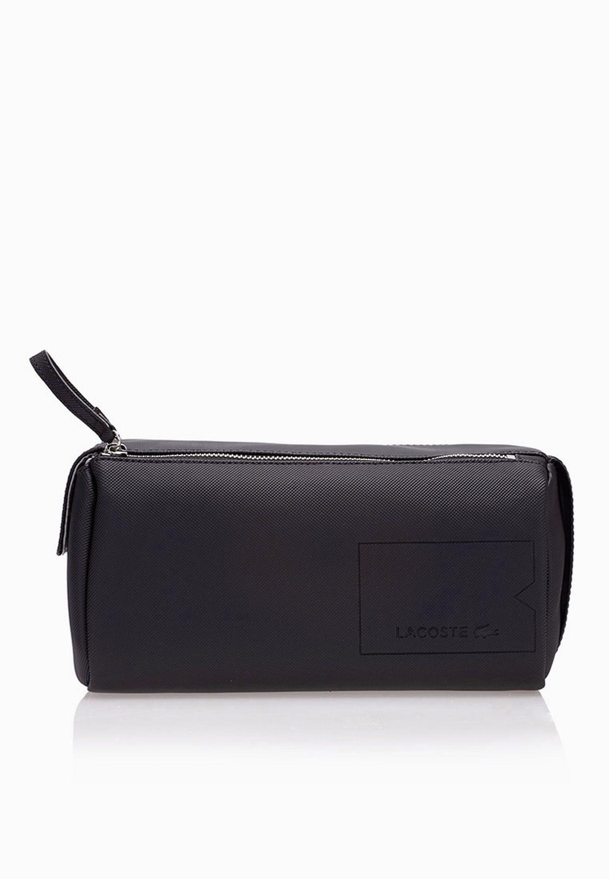 f73af921b8b2c تسوق حقيبة رجالية لحفظ الادوات ماركة لاكوست لون أسود NH1318HC-000 في ...