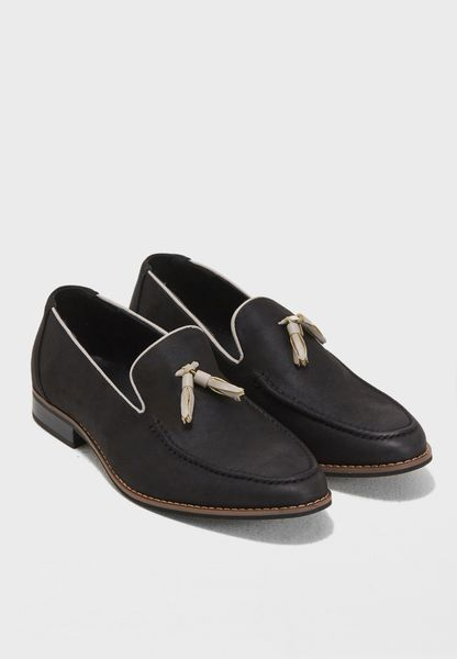 Formal Tassels Slip Ons