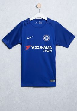 Youth Chelsea 17/18 Home Stadium Jersey