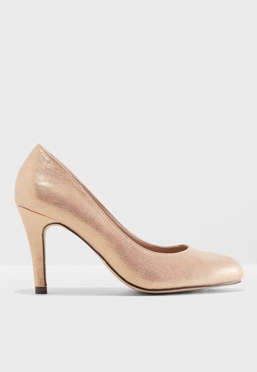Dallas Metallic Court Shoes