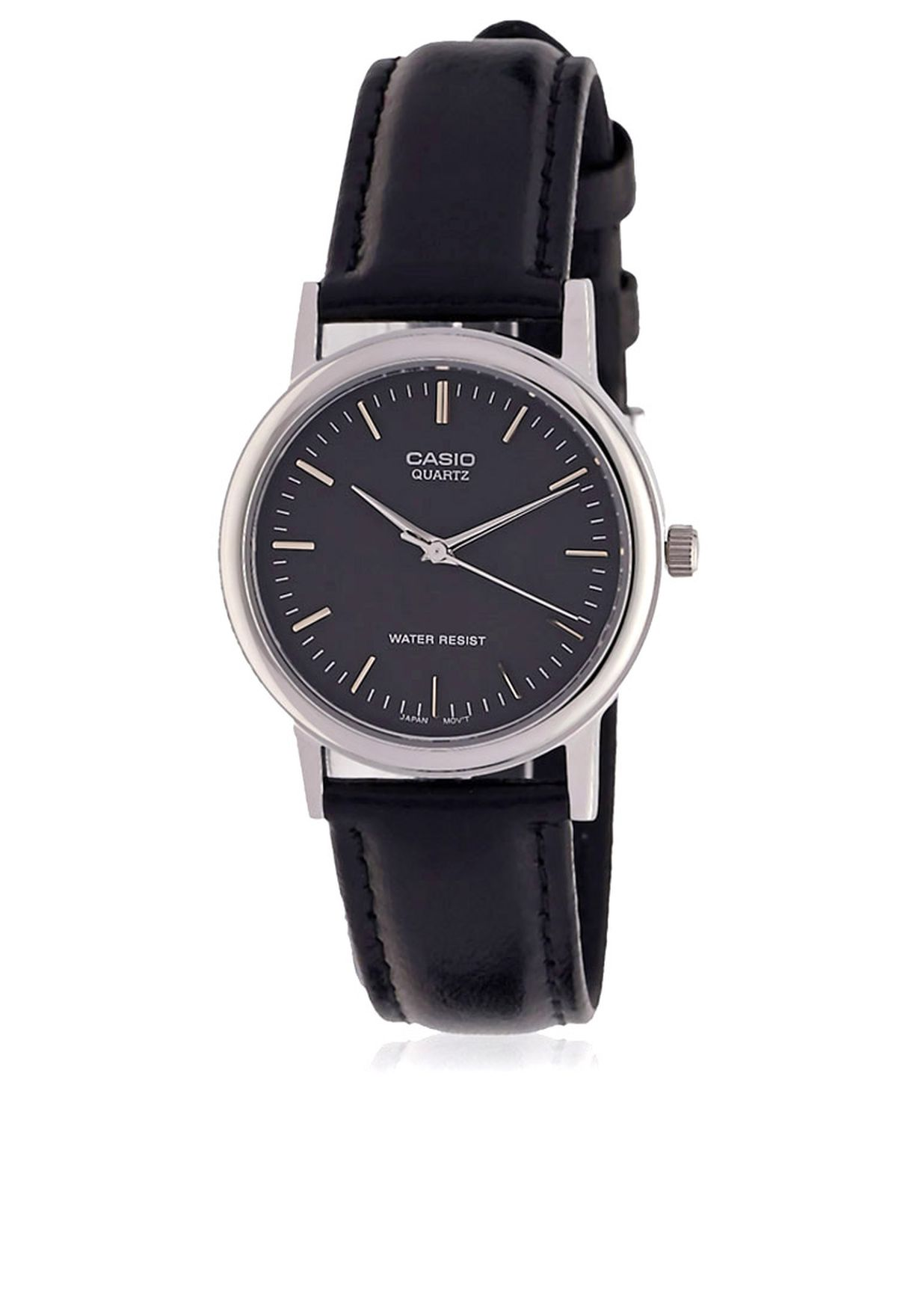 99f86cd4e تسوق ساعة يد أنالوج ماركة كاسيو لون أسود في عمان - CA511AC24OPR