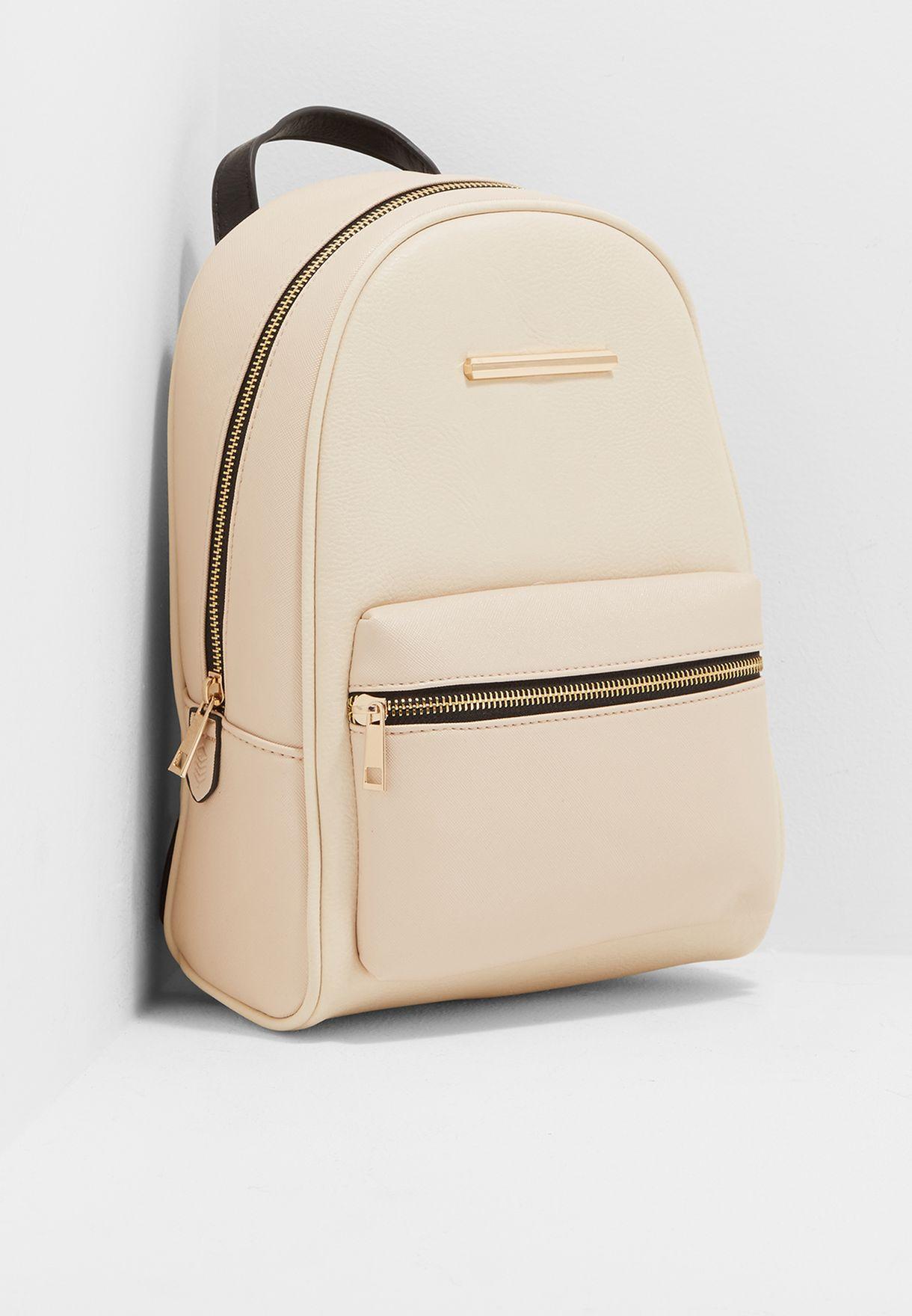 3400286ef0d0 Shop Call It Spring pink Front Zip Pocket Backpack KOEMA34 for Women ...