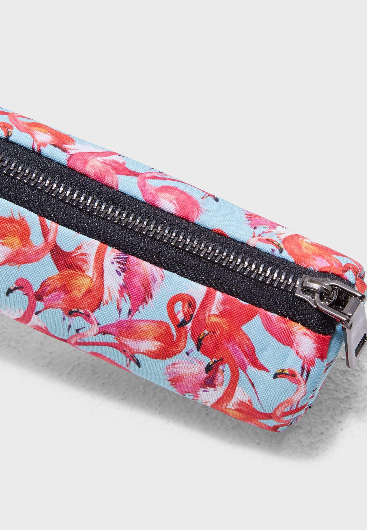 Flamingo Pencil Case