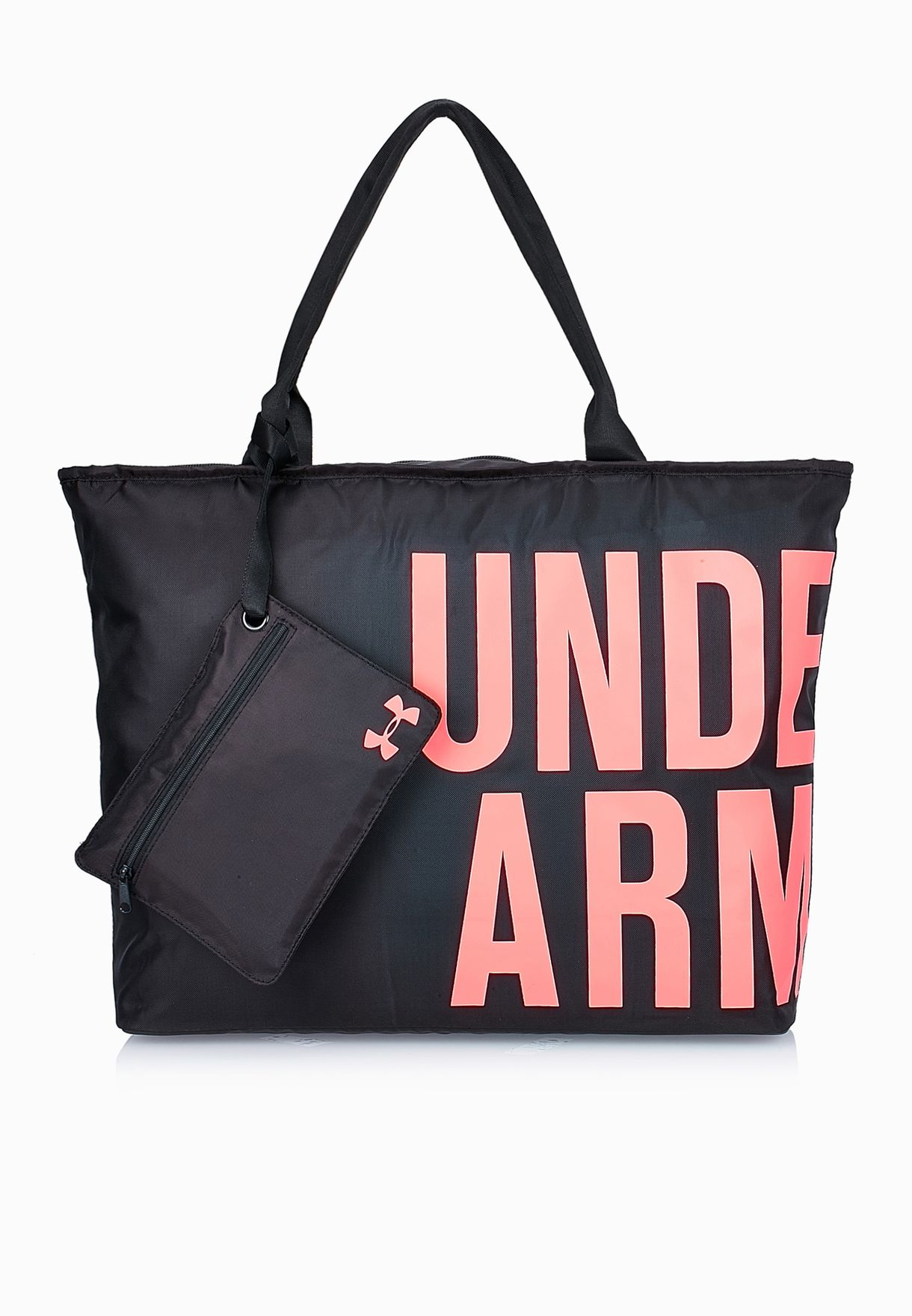 67883fc27fbc Shop Under Armour black Big Word Mark Tote 1254632-008 for Women in ...