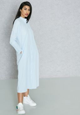 Shirt Midaxi Dress