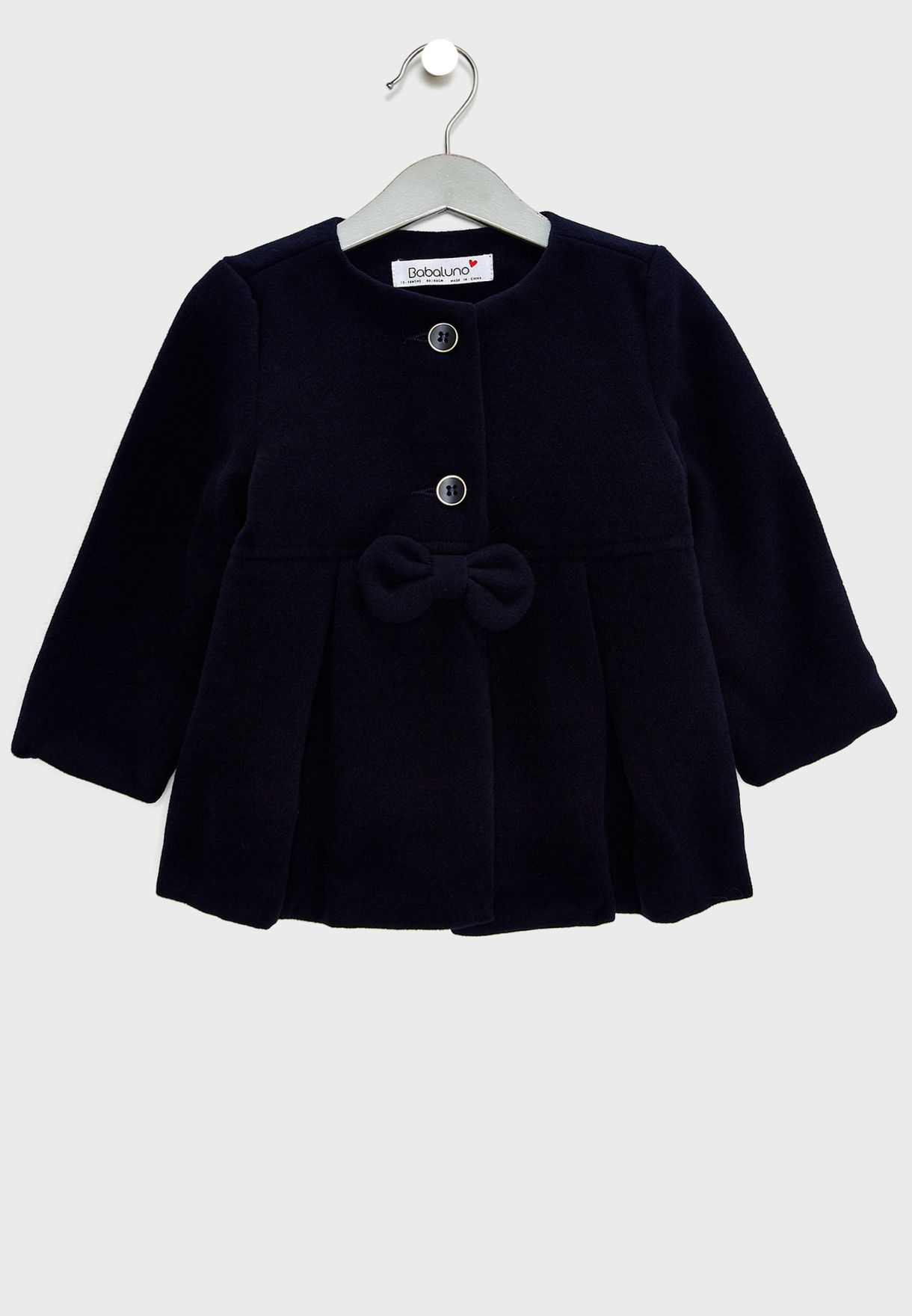 5431072e9ff0 Shop Minoti blue Infant Bow Detail Coat squirrel 9 for Kids in ...