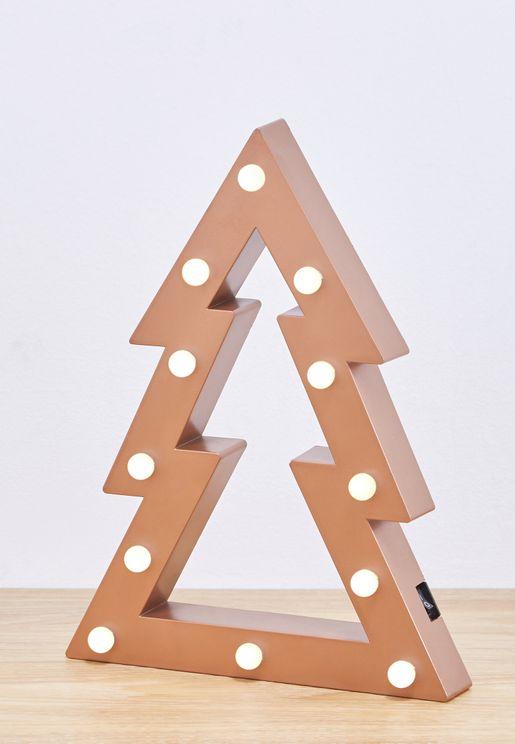 اضاءة ليد بشكل شجرة كريسماس
