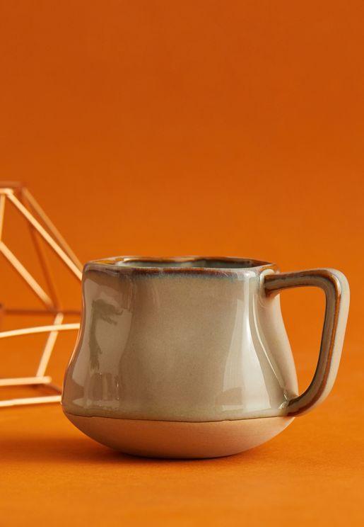 Small Sage Crinkle Mug
