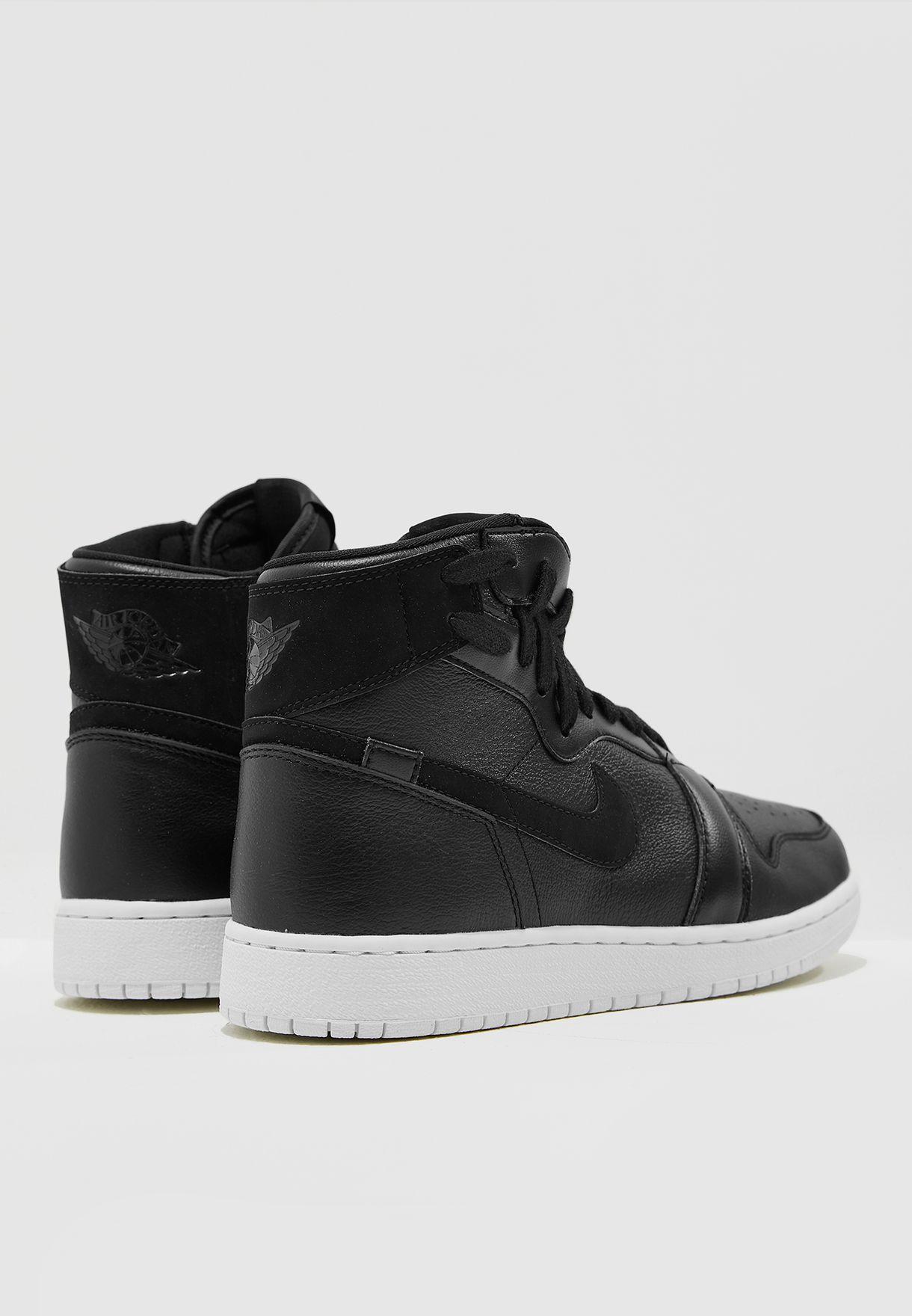 d57b01e83f6 Shop Nike black Air Jordan 1 Rebel XX AR5599-006 for Women in UAE ...