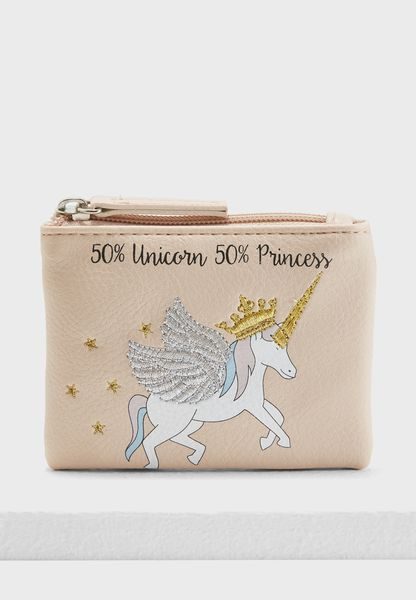 Princess Unicorn Novelty Purse