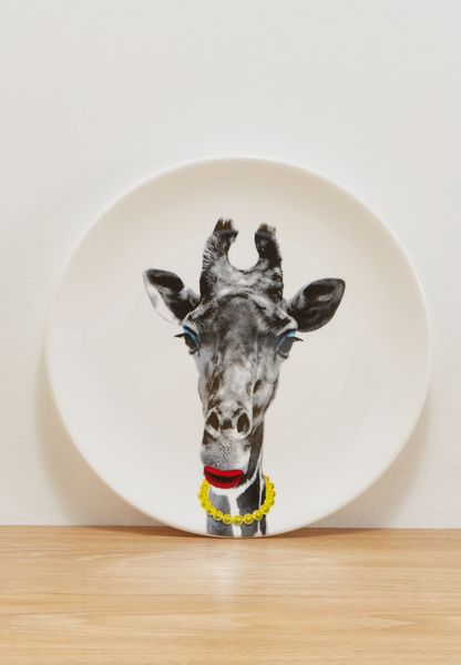 23cm Dinner Plate - Giraffe
