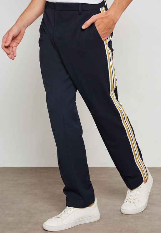 Strip Detail Trousers