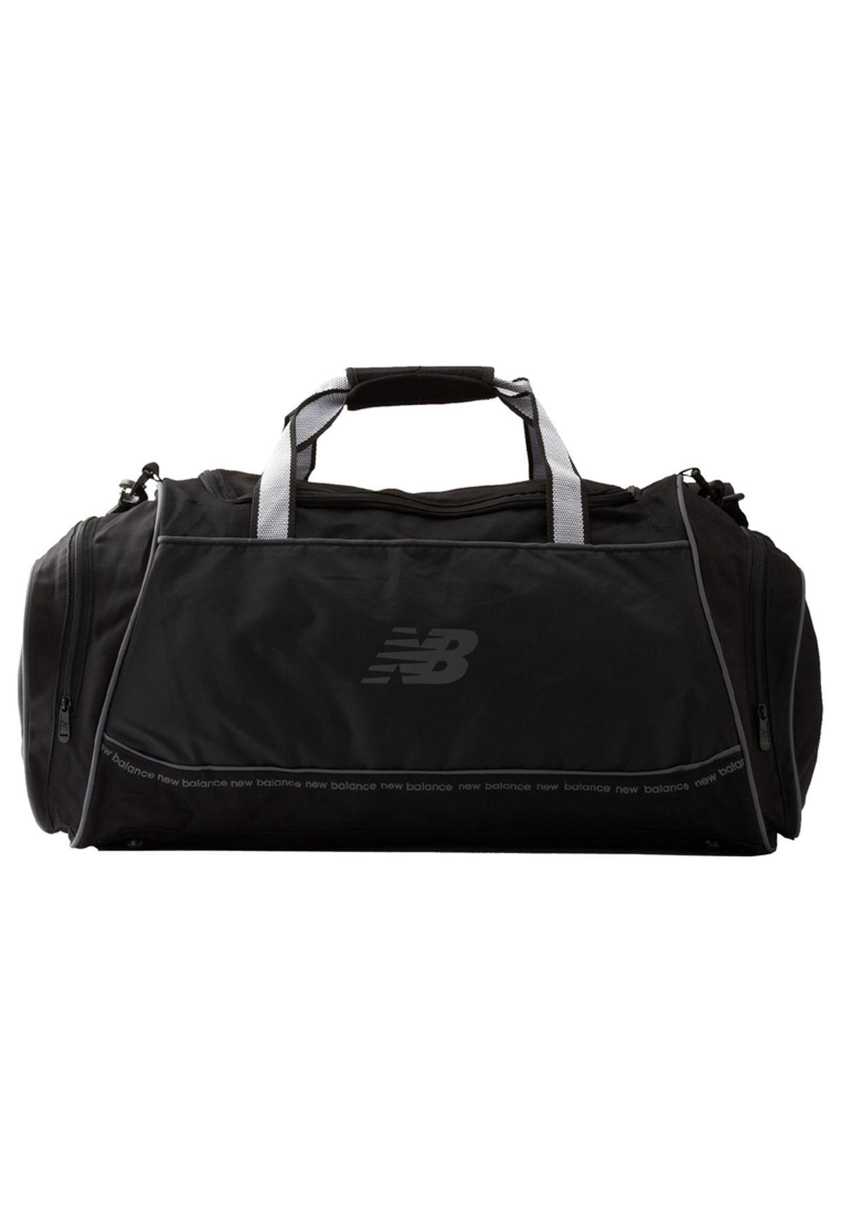 310a33aa15b21 Shop New Balance black NB-066L - Momentum Large Duffle for Men in ...