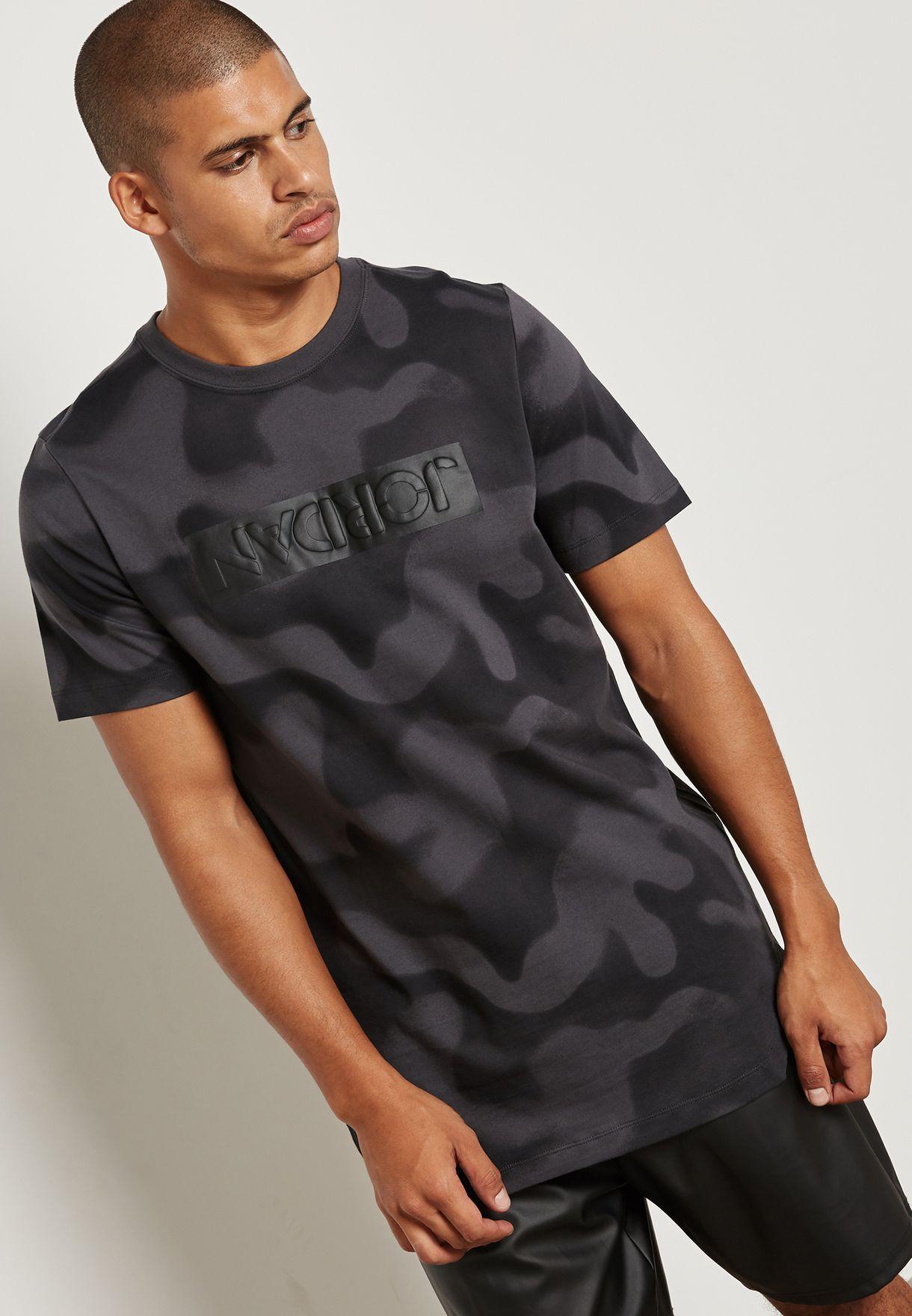 40fb11bf8b788e Shop Nike prints Jordan Camo T-Shirt 864925-060 for Men in UAE ...