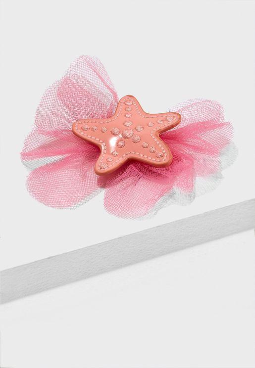 Kids Starfish Hair Clip