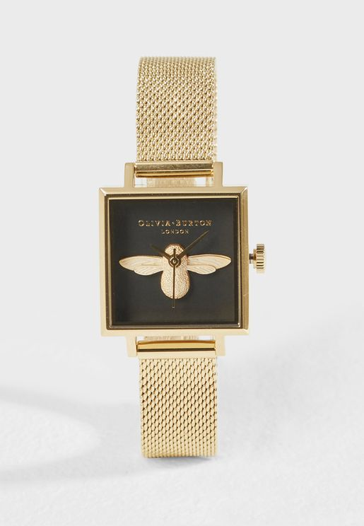 3D Bee Analog Watch