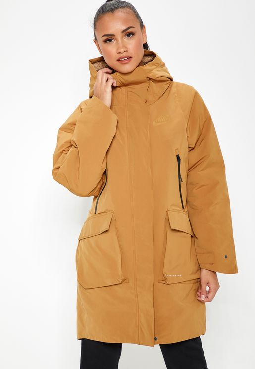 Utility Teck Pack Down Fill Parka