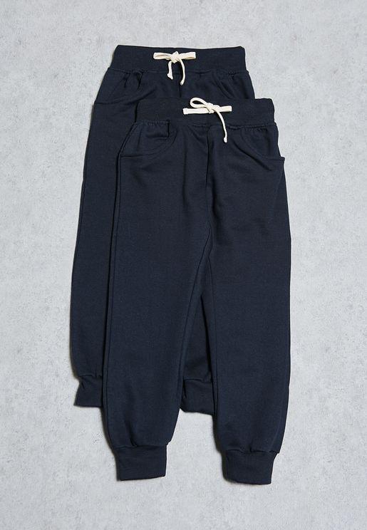 Kids 2 Pack Sweatpants