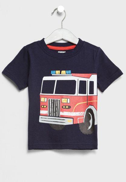 Infant Fire Truck T-Shirt