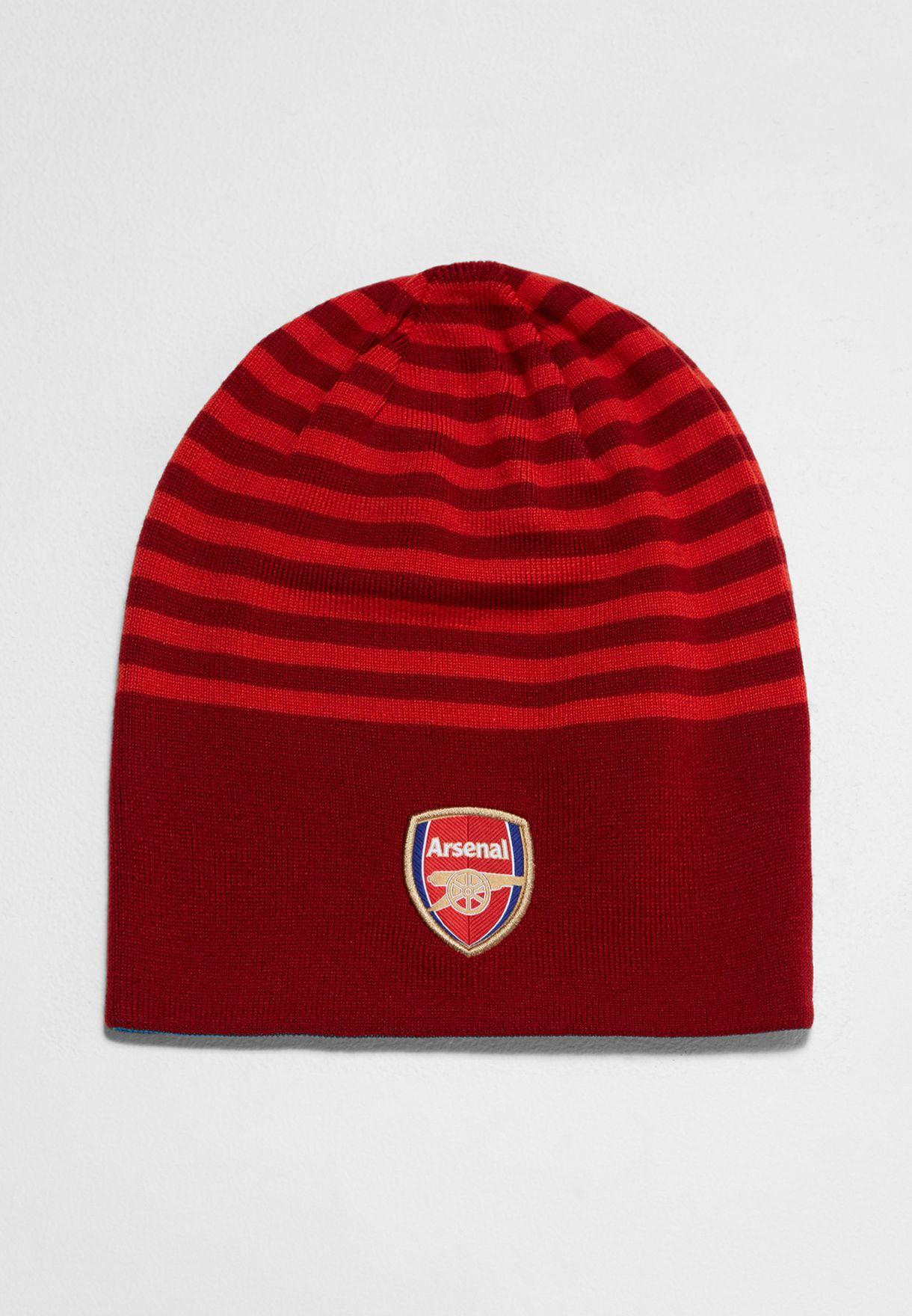 2415989eb1e ... france arsenal reversible beanie 1a91e 2211a sale puma arsenal red black  110 adjustable snapback hat ...