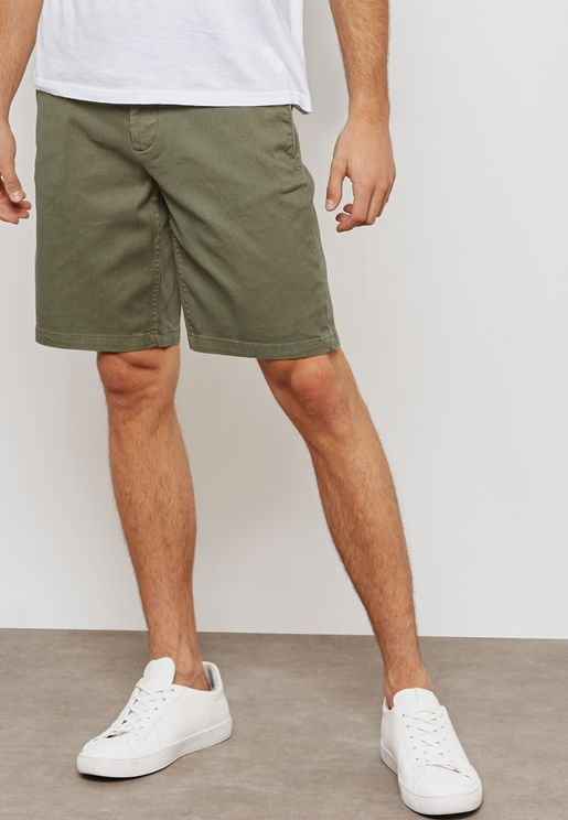 Basic Chino Shorts