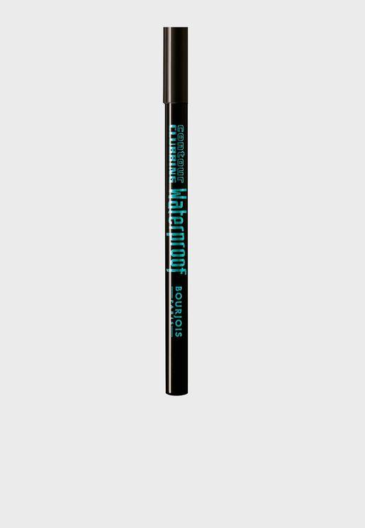 """قلم تحديد مقاوم للماء """"بلاك بارتي"""""""