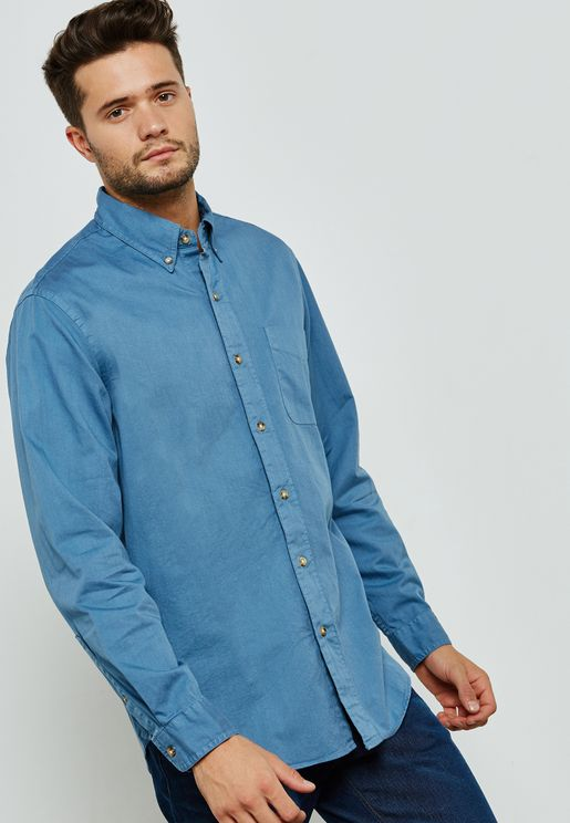 Heritage Twill Relaxed Shirt