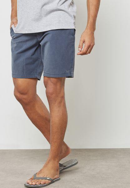 Striped Pocket Board Shorts