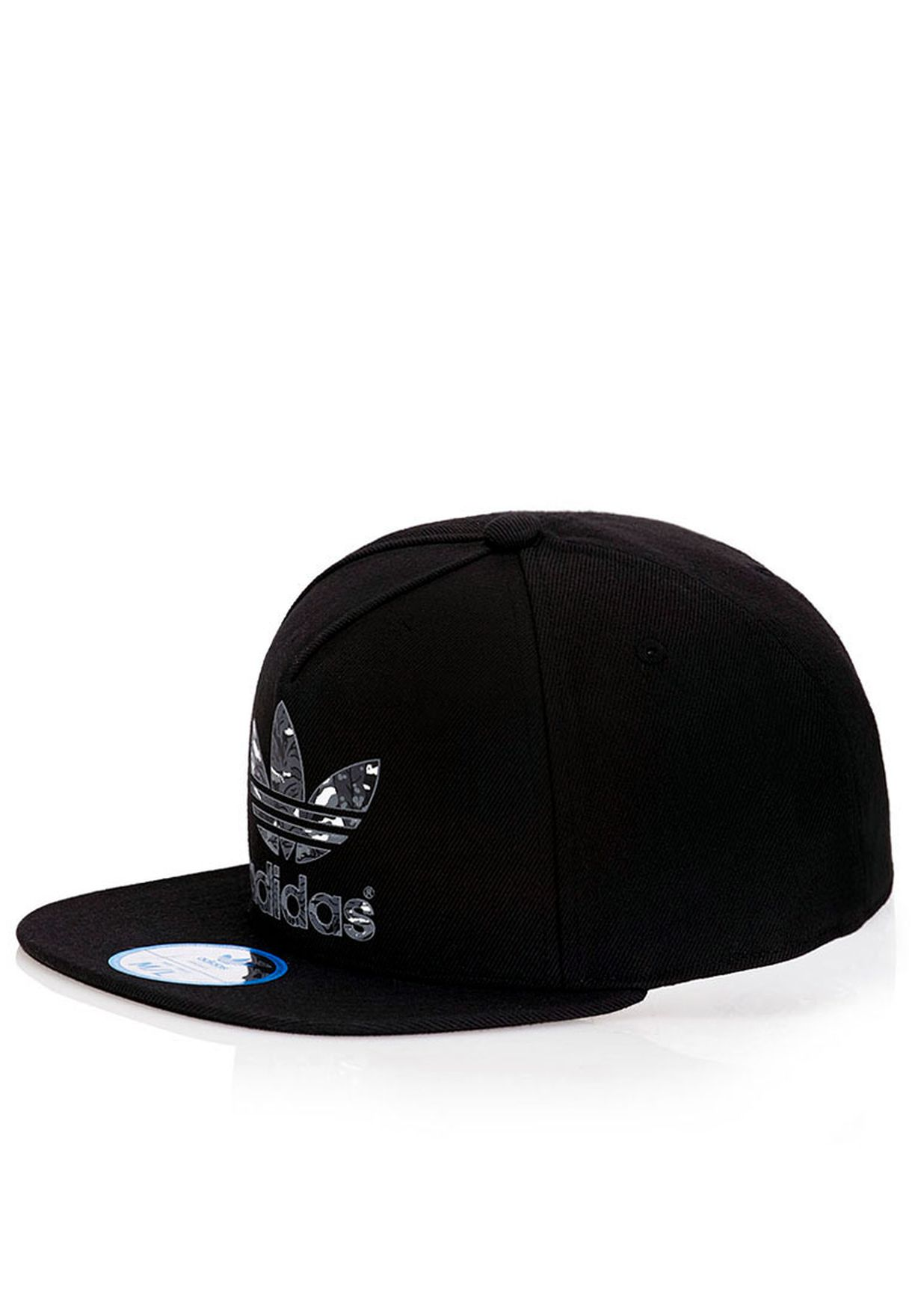 Shop adidas Originals black AC Fitted Cap for Men in Bahrain ... 5e9f969d3d64