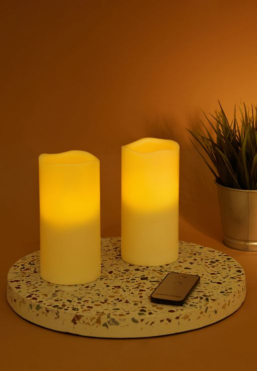 2 Set Remote Control LED Candles
