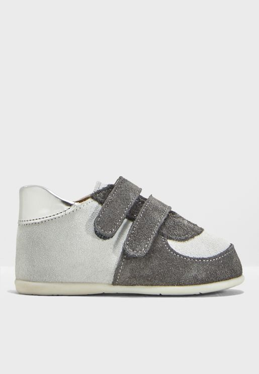 Infant Double Strap Velcro Sneaker
