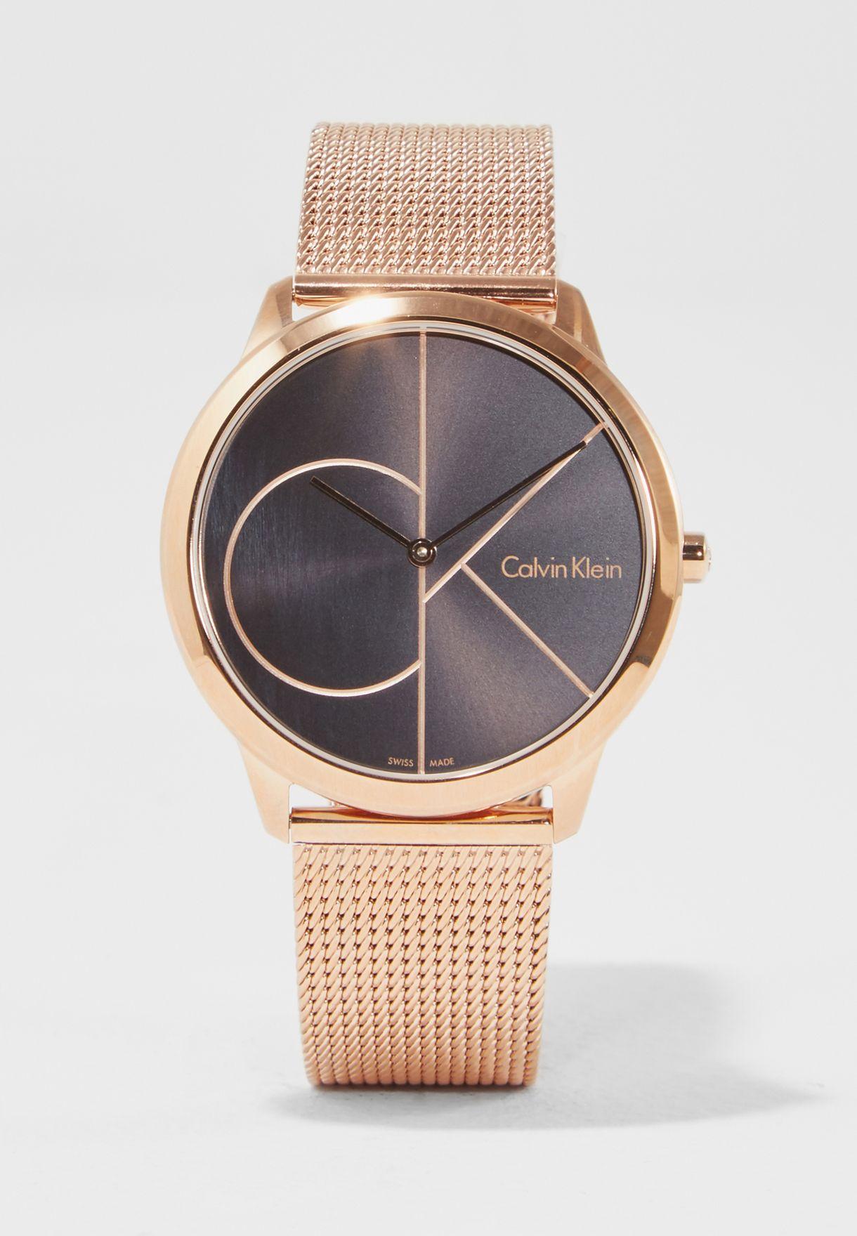 364f40e13 تسوق ساعة عصرية ماركة كالفن كلاين لون ذهبي K3M216-21 في الامارات ...