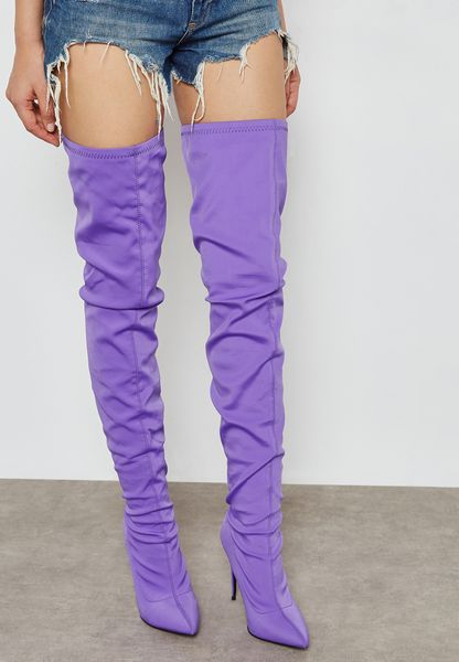 Stiletto Thigh High Boot