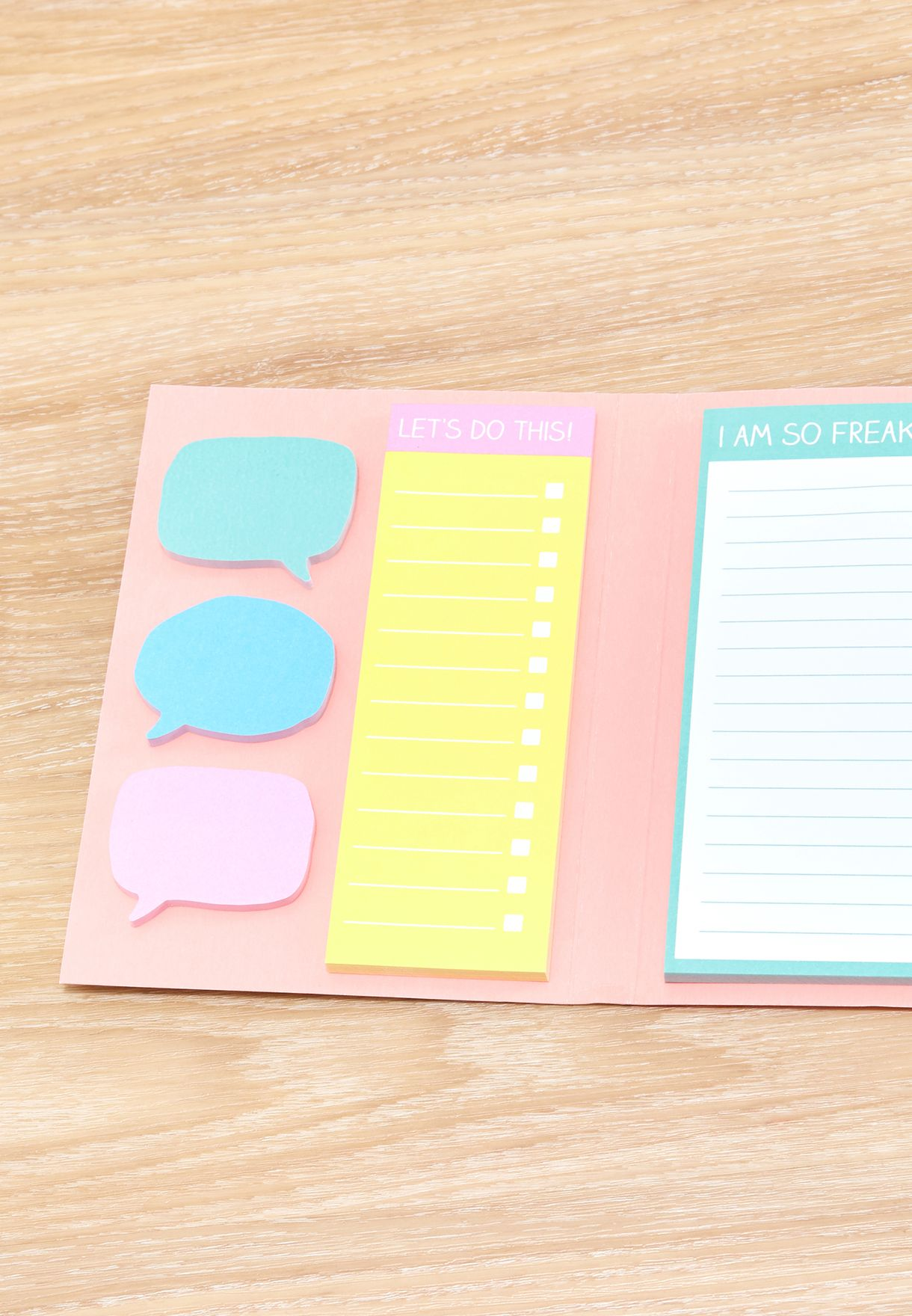 Lists and Organizy Stuff Sticky Notepad