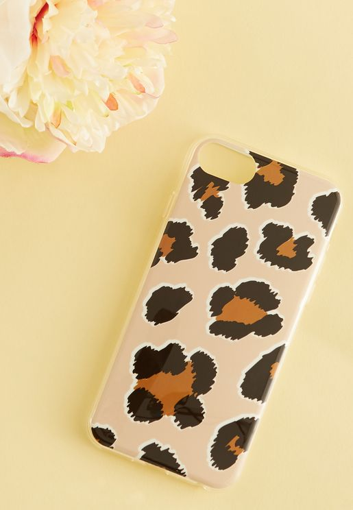 Leopard Universal iPhone Cover - 6,7 & 8