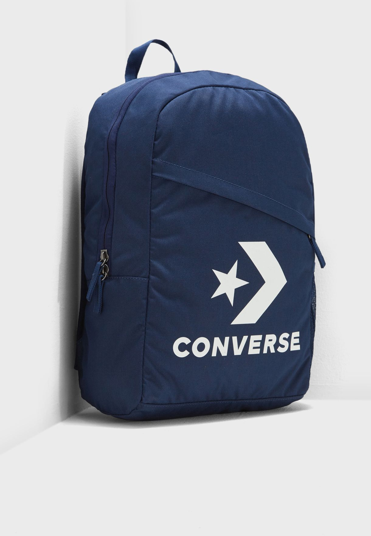 b5b18d063df6d1 Shop Converse navy Speed Backpack 10008091-A02 for Men in UAE ...