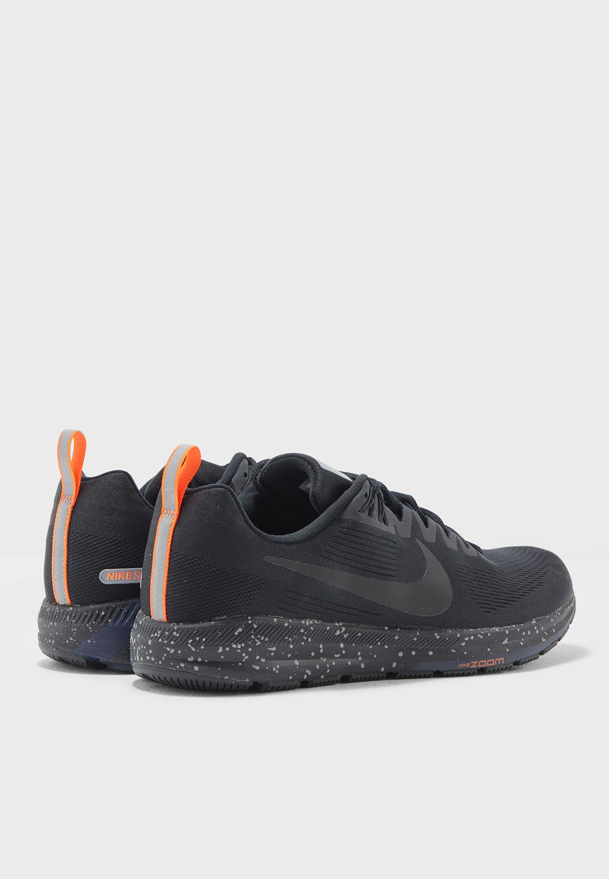4504ac9062c1 Shop Nike black Air Zoom Structure 21 Shield 907324-001 for Men in ...