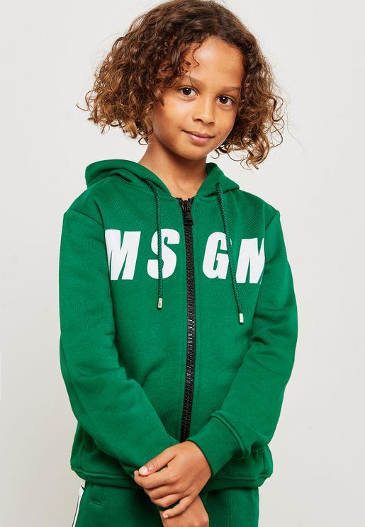 Kids Logo Hoodie