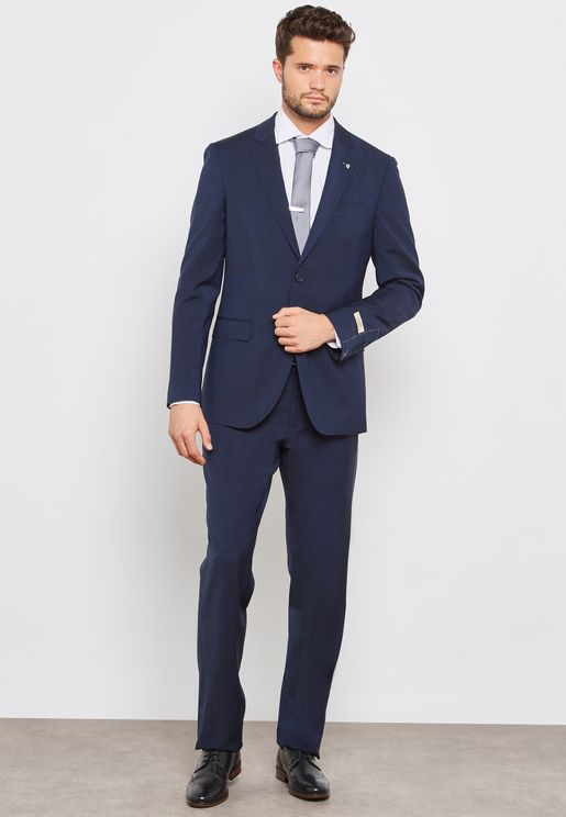 False Plain Classic Suit