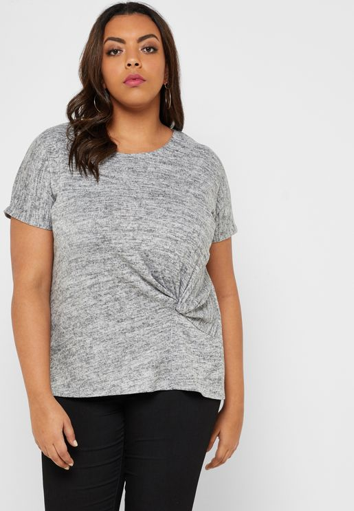 Side Twisted T-Shirt